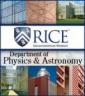 Rice University - Department of Physics and Astronomy